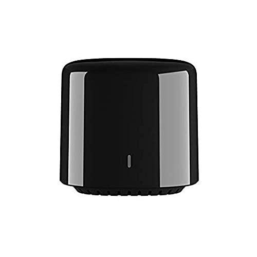 BestCon RM4C Mini Smart WiFi IR Control Remoto Universal Smart Home Hub, Todo en uno Control infrarojo para Todos Tus Dispositivos – Negro