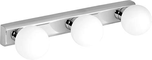 Activejet AJE-FLAMENCO iluminación de pared Apto para uso en interior Adecuado para uso en exteriores G9 Acero inoxidable, Blanco