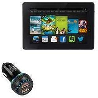 Carregador de carro Kindle Fire HD 7 (3ª geração 2013), BoxWave [Carregador duplo QC3.0] Carregador duplo para carregament...