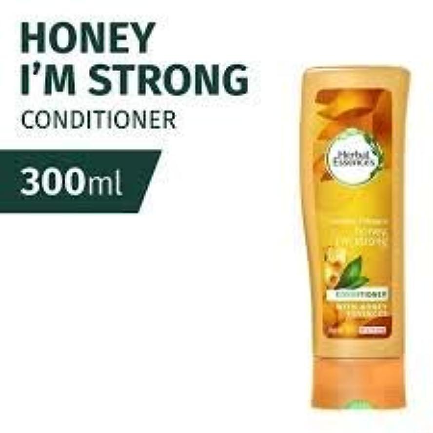 発揮する最大不快なCLAIROL HERBAL ESSENCES ハニーは、私は強いコンディショナー300ミリリットルのだ - それを甘いパワーを与えて、蜂蜜の風味が豊かでクリーミーな風味は保湿が髪を修復混合して