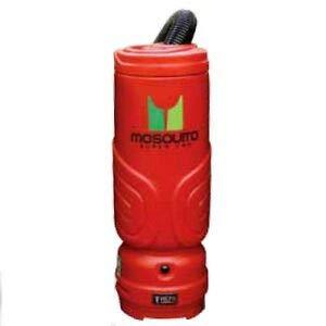 Mosquito 06-1062 6 Quart Super HEPA Backpack Vacuum- Red