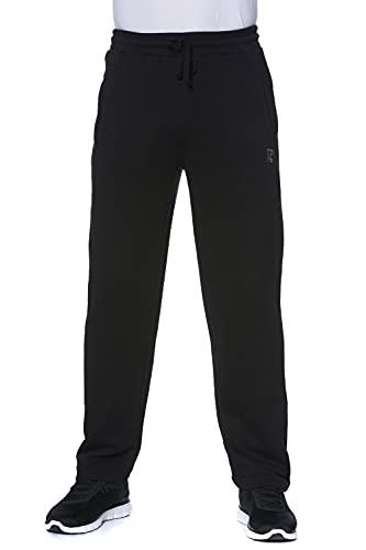 JP 1880 Herren L-8XL bis 8XL, Jogginghose, Hose mit elastischem Bund und Saum, 2 Eingrifftaschen, gerade geschnitten schwarz 5XL 702635 10-5XL