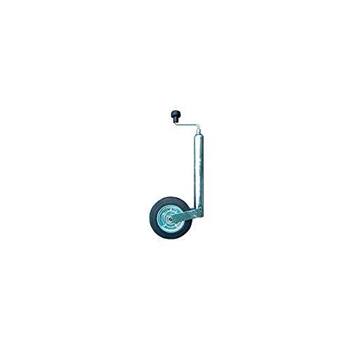 MAXTER Roue Jockey - Diam 48 mm (Galet Acier) - 160KG