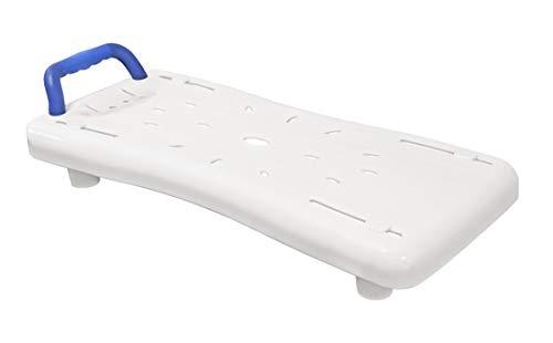 FabaCare Badewannenbrett, Badewannensitz, Wannensitz mit Griff, Badewannenaufsatz, bis 150 kg