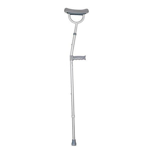 Krücken / Canes / alte Mann Canes / Aluminiumlegierung / einstellbare Achselstütze / medizinische Versicherung Ellenbogen Krücken
