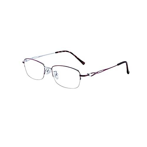 HQMGLASSES Gafas de Lectura para computadora con luz Anti-Az