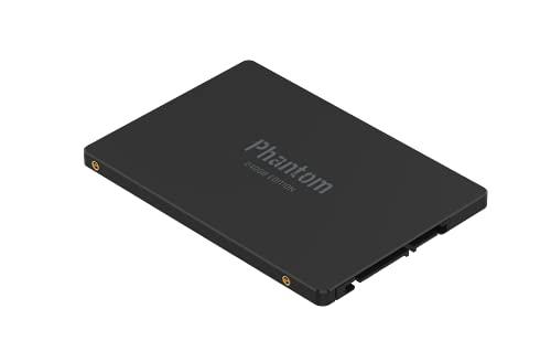 VERICO Phantom Interne SSD SATA III 2.5 Zoll 240GB, 3D NAND Turbo Boost SLC Cache-Technologie Festplatte für Gaming, 550 MB/s Übertragungsraten Schwarz, 1SSOP-SSBKJ3-NN, 240 GB