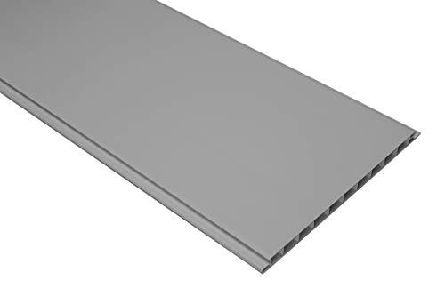 1 qm | Paneele | Wandverkleidung | Auswahl | 200x16cm | HEXIM | PP16-10 grau