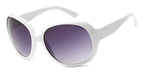 Jackie Onassis - Gafas de sol para disfraz de Jackie Kennedy Jacky O Onasis, color blanco brillante