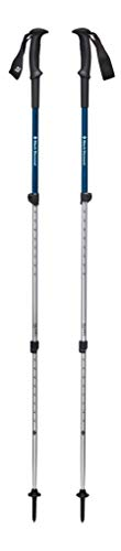 Black Diamond Trail Sport 2 Trek Poles Bastones de Senderismo, Unisex-Adult, Kingfisher, 81-140 cm