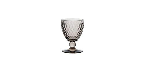 Villeroy & Boch Boston Coloured Rotweinglas Smoke, 310 ml, Kristallglas, Grau