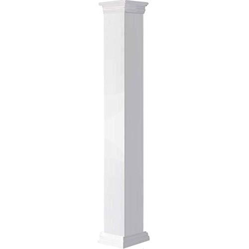 Ekena Millwork CC0604ENPPRPR Column, White