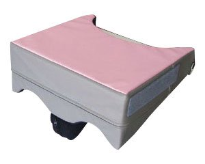 マイバディ 腕まくら プラス 幅38cm ピンク MBP052-38 (ユーキ・トレーディング) (車いす用クッション)
