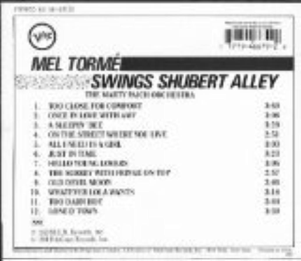 MEL TORME SWINGS SHUBERT ALLEY