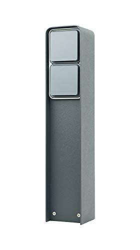 MG-Elektro Steckdosensäule (Anthrazit)
