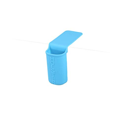 Holster Brands Lil' Holster Small Bathroom Essentials Storage Holder, Skinny, Turquoise