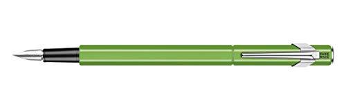 カランダッシュ『849万年筆メタル蛍光グリーン』
