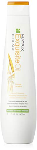 Matrix Biolage Exquisite Öl micro - oil Shampoo - Damen, 1er Pack (1 x 400 ml)