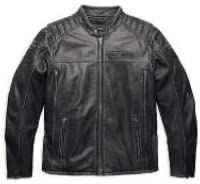 Men's Moto Biker Real Cow Leather Jacket Black