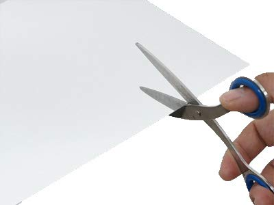 【セルフカット可能】樹脂ミラー(プラスチックミラー) 300×450mm 厚み0.5ミリ A4サイズ 薄板鏡 DIY