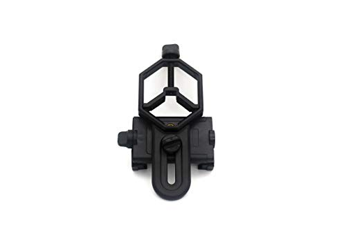 Universal Cell Phone Adapter Mount, Smartphone Mount, Spotting Scope Telescope Support Eyepiece Diameter 28 to 47mm