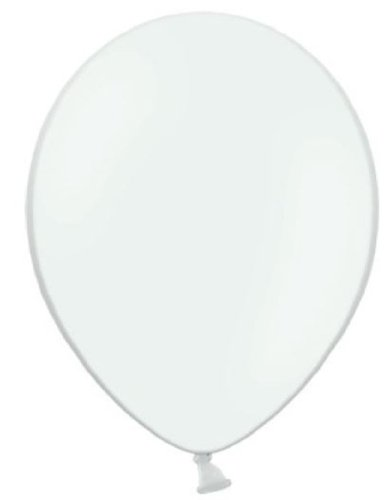 50 Luftballons weiß Premiumqualität Ø ca. 27cm B85 (Standardgröße)