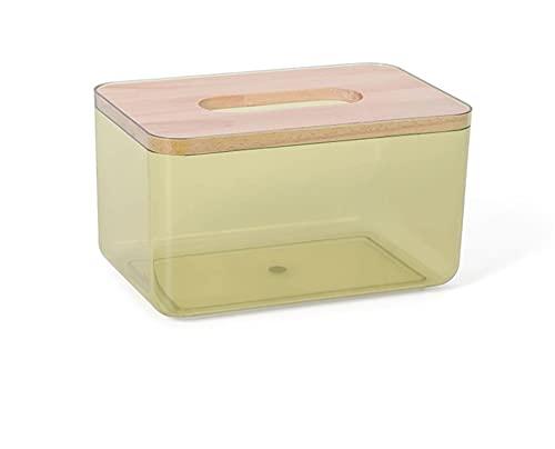WYDMBH 1 unid nórdico Minimalista toallitas húmedas toallitas de toallitas contenedor ecológico fácil de Transportar Limpieza cosmética Limpieza Caja de Almacenamiento (Color : S Yellow)