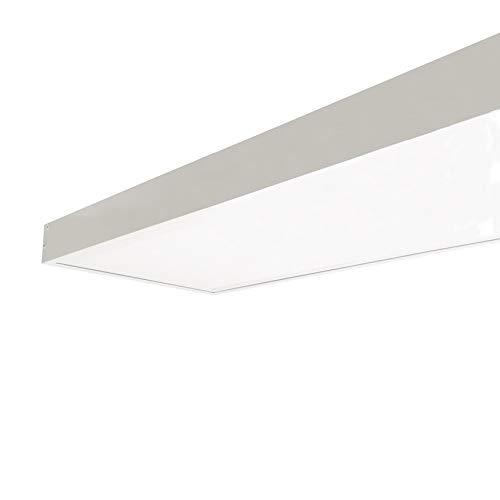 Kit en Saillie BLANC pour Dalle LED Slim 120x30 - Blanc - SILUMEN