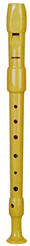 Flauta Hohner 1680002 plastico 9516 - desmotable, funda naranja