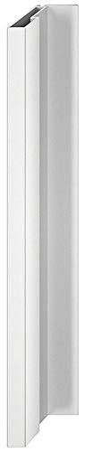 Gedotec Design Griffleiste Aluminium Möbelgriff Küche Profilleiste kürzbar L-Form - H1833 | Länge 2500 mm | Griff silber eloxiert | MADE IN GERMANY | 1 Stück - Schrankgriff für Schiebetüren & Möbel