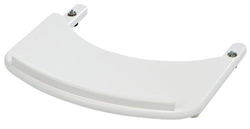 Geuther - Ess- und Spielbrett 0055SB für Hochstuhl Swing, erhöhter Rand, weiß