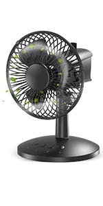 Our #10 Pick is the VersionTECH MF005-1 Fan for Baby Room