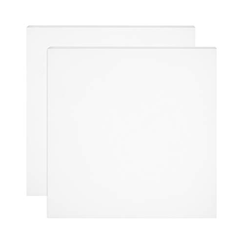BENECREAT 2 PCS Placa de de Silicona Lámina de Silicona Blanca 200x200x2mm Tablero de Juntas Resistente a Altas Temperaturas, Utilizado para Hacer Juntas y Sellos