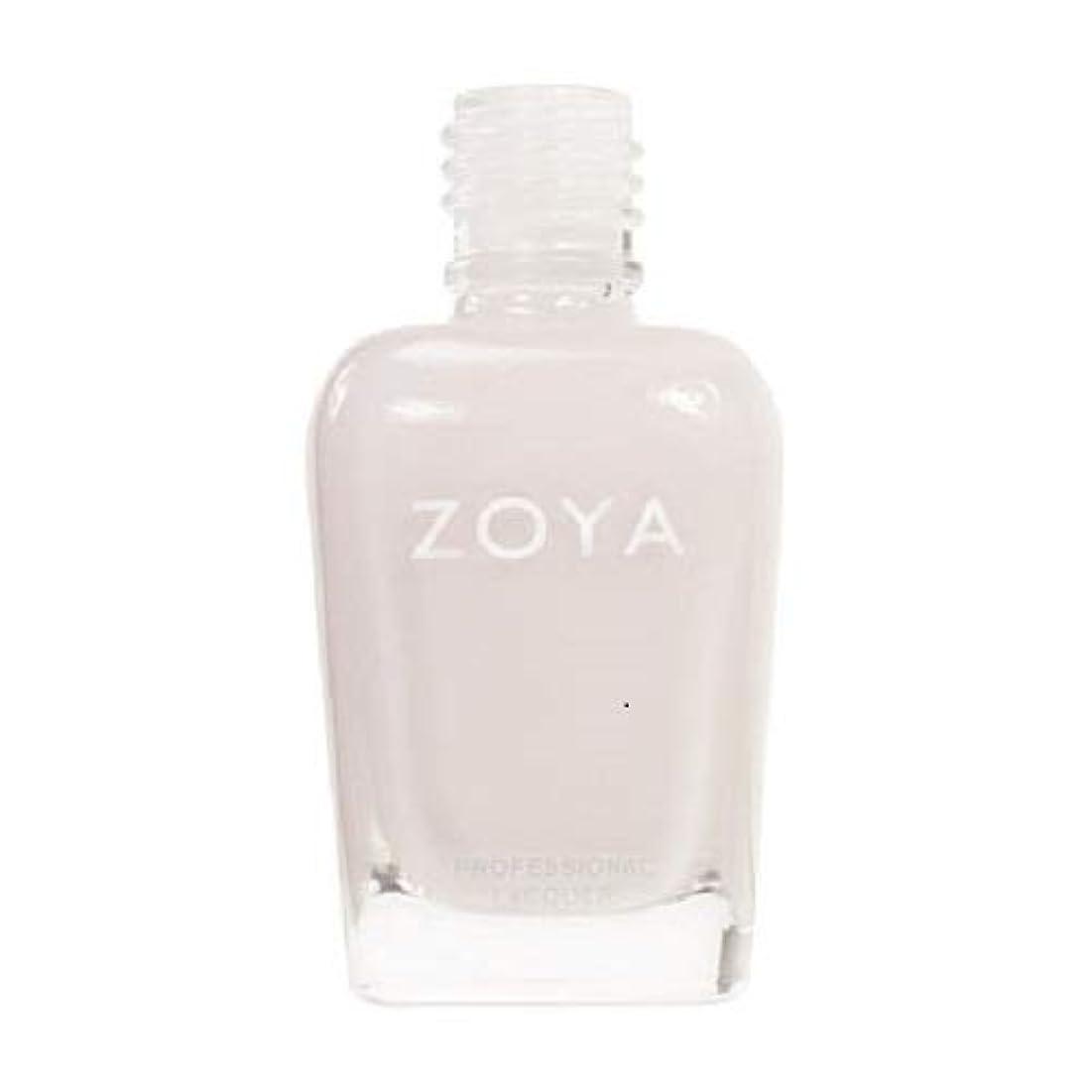 書誌可決流産ZOYA ネイルカラーZP235 SABRINA サブリナ 15ml ほのかに色づくピンクをまとったホワイト シアー/クリーム 爪にやさしいネイルラッカーマニキュア