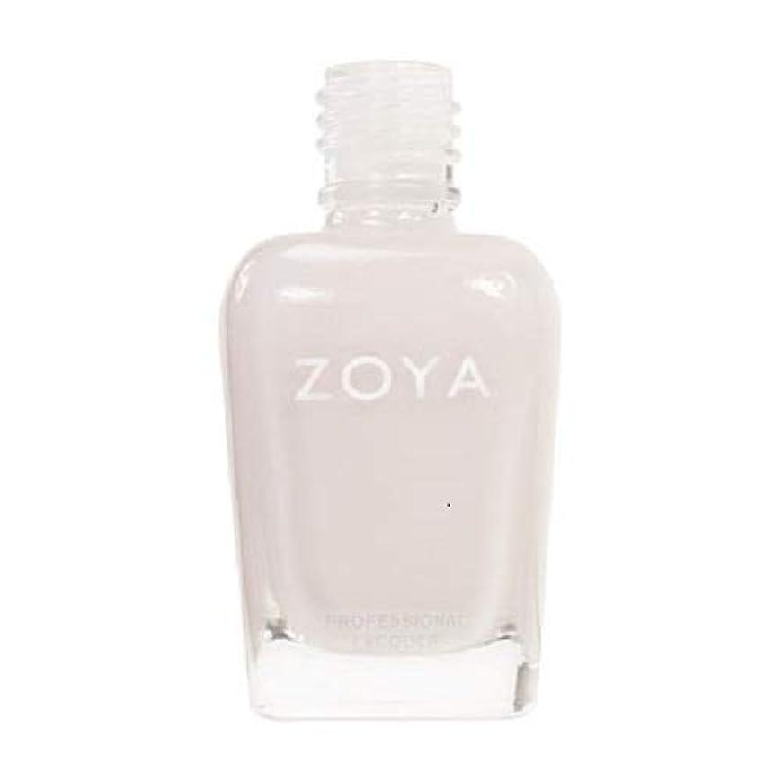 ハミングバードアルバム会員ZOYA ネイルカラーZP235 SABRINA サブリナ 15ml ほのかに色づくピンクをまとったホワイト シアー/クリーム 爪にやさしいネイルラッカーマニキュア
