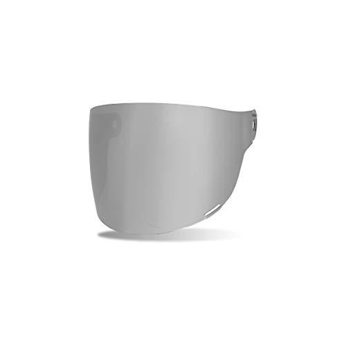 Bell Bullitt Helm Flach Schutzschild / Visier (Braun Tabs) Dunkles Silber Iridium