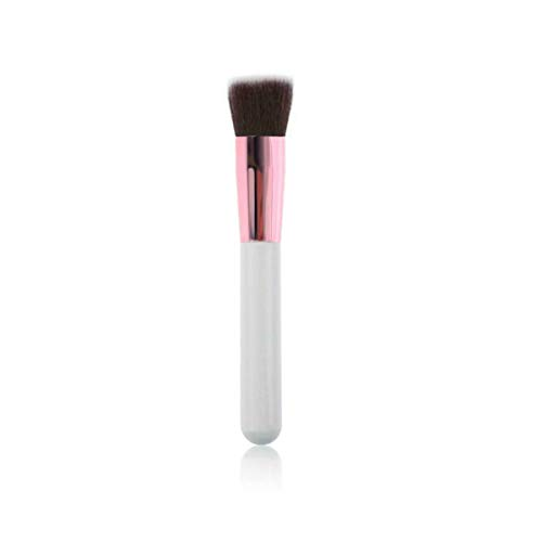 Hochwertiger multifunktionaler Kabuki-Pinsel, flacher Kopf, M2, weiches Mineralpuder, BB Creme, Braut, Party, Alltag, Highlighter, Concealer, Augenbrauen-Liner, Lidschatten, Make-up