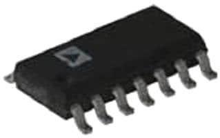 AD8694ARZ-Operationsverstärker, vierfach, 4 Verstärker, 10 MHz, 5 V/µs, 2.7V bis 6V, SOIC, 14 Pin(s) (10 pieces)