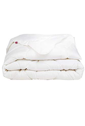 Abeil 15000000528 piumone singolo  Bio 'Attitude' cotone bianco 200 x 140 cm