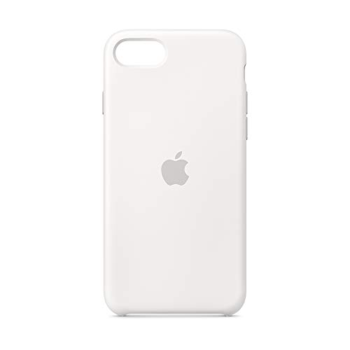 Apple Funda Silicone Case (para el iPhone SE) - en blanco