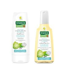 Rausch Shampoo al cardospermum ipoallergenico 200 ml + Balsamo al cardiospermum ipoallergenico 200 ml