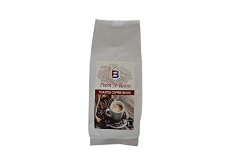 Expresso Brands 100% Pure Natural Roasted Coffee Beans - 1Kg