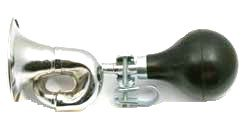 GOLF CART CAR OLD FASHION CHROME BUGLE HORN CLUB CAR YAMAHA EZ-GO EZ GO EZGO