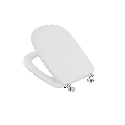 Inbagno Coprivaso Dedicato per WC SENESI Serie PIENZA in Termoindurente Bianco