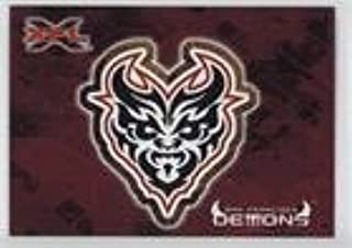 San Francisco Demons (Football Card) 2001 Topps XFL - Logo Stickers #6