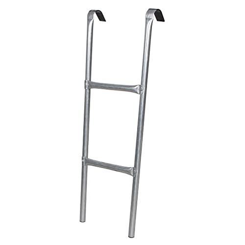 SPRINGOS Escalera universal para cama elástica con marco de altura de 70 a 90 cm, 2 peldaños