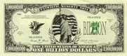 One Billion Dollar Bill (Qty: 25)