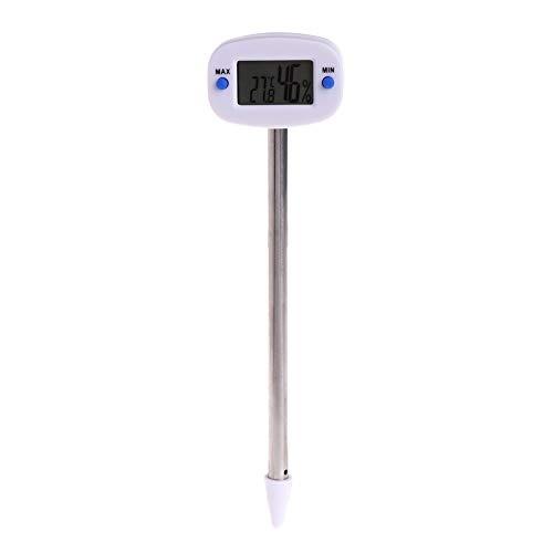 DyNamic Digitale Thermometer Bodem Temperatuur-Vochtigheidsmeter Tester Monitor Voor Tuin Gazon Plant Pot Meetinstrumenten