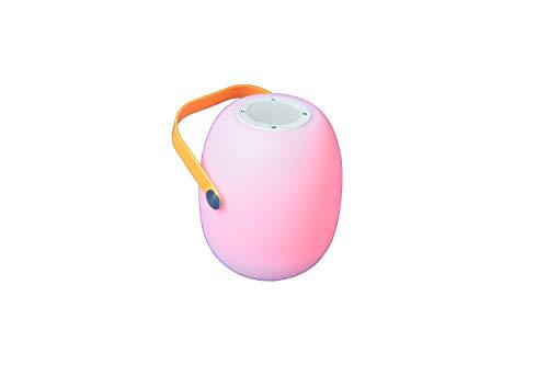 KIWAHK LED Night Light, LED Table Light, Portable Wireless Lamp and Bluetooth Speaker, Portable Garden Lamp