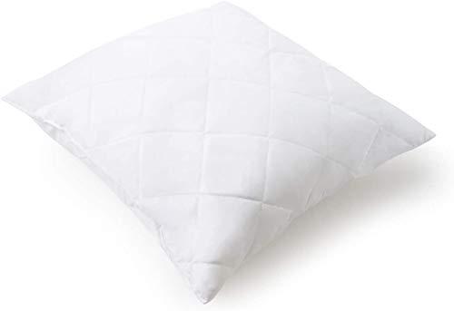Mister Sandman Essential Kissen aus Mikrofaser, Premium Kopfkissen, samtig weich, für einen gesunden Schlaf (versteppt, 80 x 80 cm)